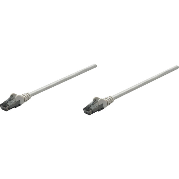 Intellinet Network Solutions Cat6 UTP Network Patch Cable, 7 ft (2.0 m), Gray