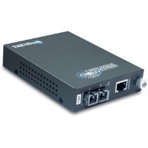 TRENDnet Intelligent 1000Base-T to 1000Base-FX Single Mode Fiber Converter