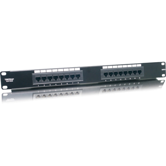 TRENDnet 16-port Network Patch Panel
