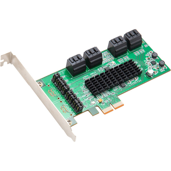 SYBA 8 Internal SATA III Ports PCI-Express Card, PCI-e x2 Slot