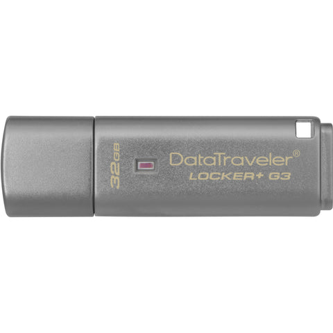 Kingston 32GB DataTraveler Locker+ G3 USB 3.0 Flash Drive