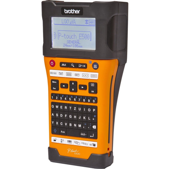 Brother Industrial Handheld Labeling Tool w- Auto Cutter & Computer Connectivity