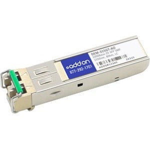 AddOn D-Link DEM-315GT Compatible TAA Compliant 1000Base-ZX SFP Transceiver (SMF, 1550nm, 80km, LC)