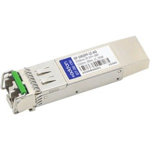AddOn Dell Force10 GP-10GSFP-1Z Compatible TAA Compliant 10GBase-ZR SFP+ Transceiver (SMF, 1550nm, 80km, LC, DOM)