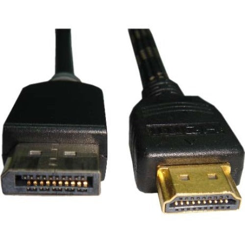 Unirise 15ft Displayport Male to HDMI Male Cable