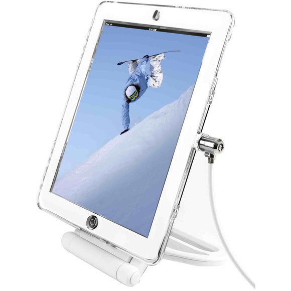 Compulocks Brands, Inc. Ipad Air-air 2 Lockable Case Bundle With Security Rotating Stand Andwith Securit