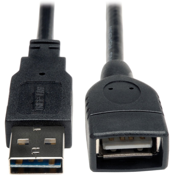Tripp Lite 6in USB 2.0 High Speed Extension Cable Reversible A to A M-F