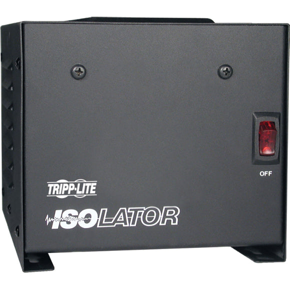 Tripp Lite 500W Isolation Transformer with Surge 120V 4 Outlet 6ft Cord TAA GSA