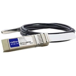 AddOn IBM 46K6182 Compatible TAA Compliant 10GBase-CU SFP+ to SFP+ Direct Attach Cable (Active Twinax, 1m)