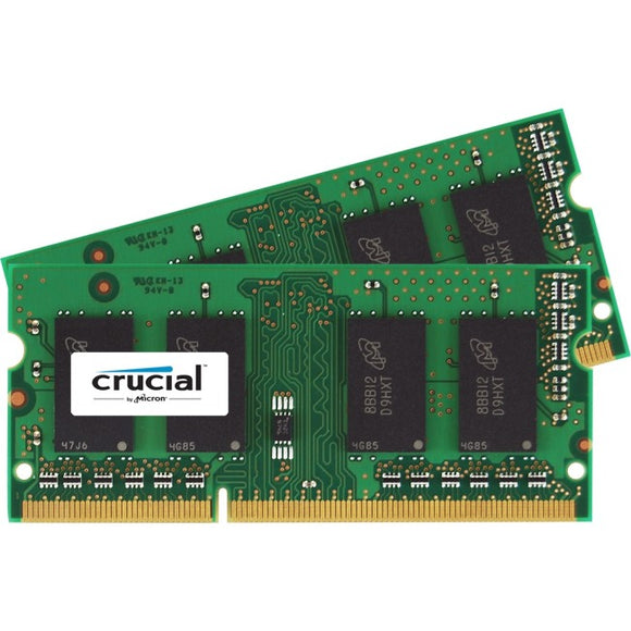 Micron Consumer Products Group 2-4gb 204-pin Sodimm Ddr3 Pc3-14900 1.35v