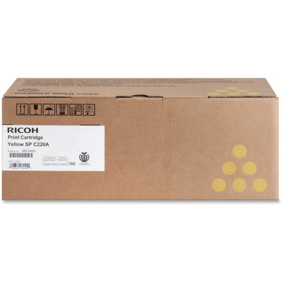 Ricoh Usa Ricoh Yellow Cartridge