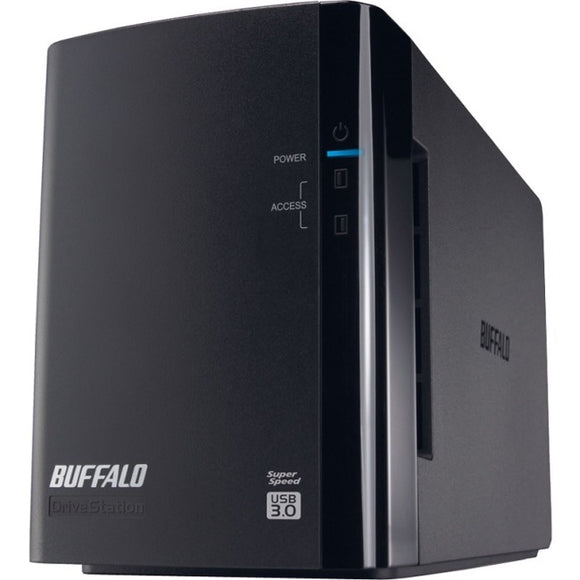 BUFFALO DriveStation Duo USB 3.0 2-Drive 8 TB Desktop DAS (HD-WH8TU3R1)