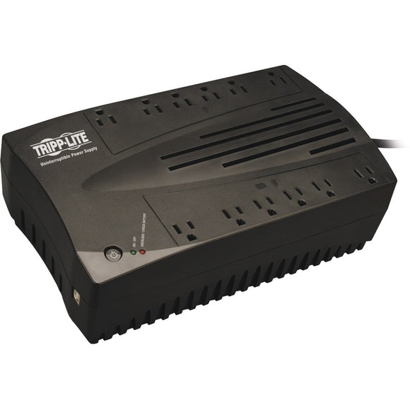 Tripp Lite UPS 750VA 450W Desktop Battery Back Up AVR Compact 120V USB RJ11 TAA