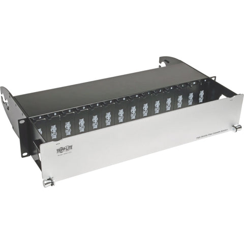 Tripp Lite High Density Rackmount Fiber Enclosure Panel 14 Cassette 2URM ->  -> May Require Up to 5 Business Days to Ship -> May Require up to 5 Business Days to Ship