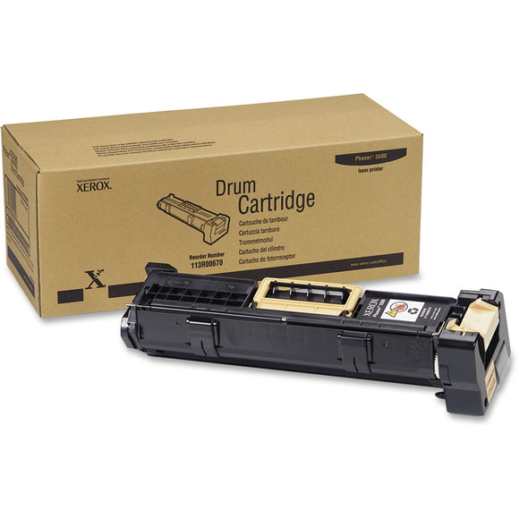 Xerox Drum Cartridge, Phaser 5500 (up To 60k), 113r00670