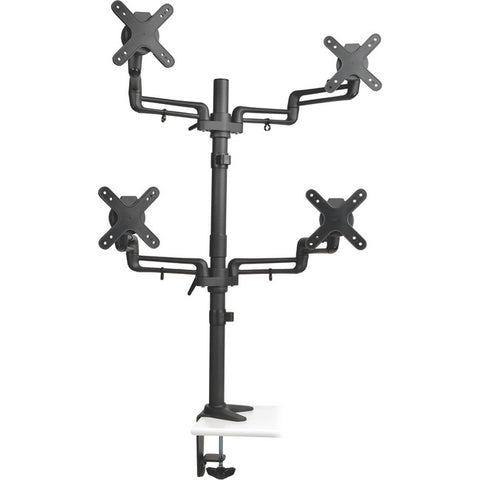 Tripp Lite Quad Full-motion Display Flex Arm Desk Mount Monitor Stand Clamp 13in. To 27in. ->  -> May Require Up to 5 Business Days to Ship -> May Require up to 5 Business Days to Ship