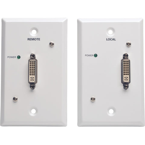 Tripp Lite DVI Over Cat5-Cat6 Video Extender Transmitter and Receiver TAA 100' ->  -> May Require Up to 5 Business Days to Ship -> May Require up to 5 Business Days to Ship - SystemsDirect.com