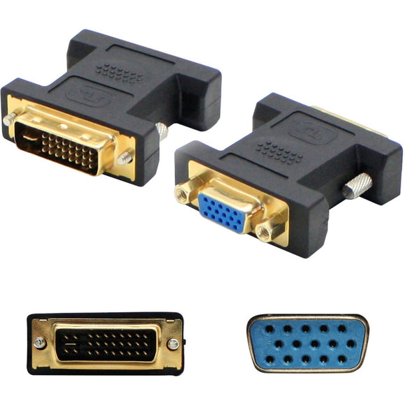 AddOn 5-Pack of DVI-I Male to VGA Female Black Adapters