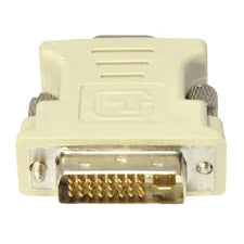 AddOn 5-Pack of DVI-I Male to VGA Female White Adapters
