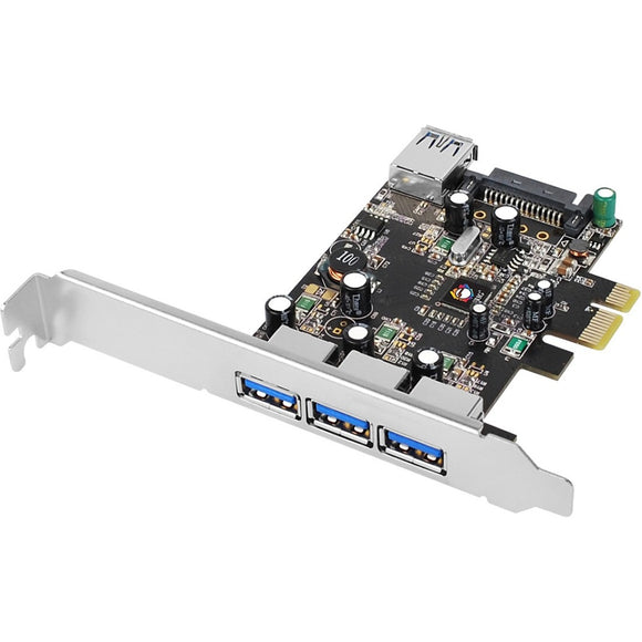 SIIG DP USB 3.0 4-Port PCIe i-e VL