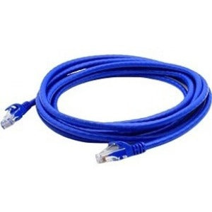 AddOn 10-pack of 25ft RJ-45 (Male) to RJ-45 (Male) Blue Cat6A UTP PVC Copper Patch Cables
