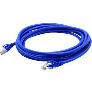 AddOn 25-pack of 25ft RJ-45 (Male) to RJ-45 (Male) Blue Cat6A UTP PVC Copper Patch Cables
