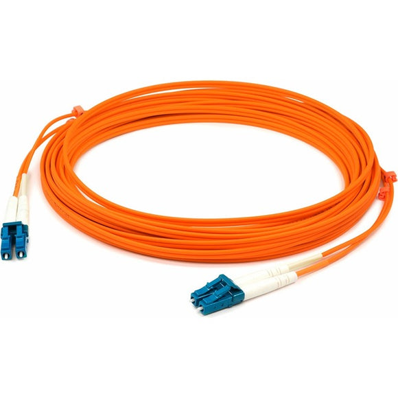 AddOn 4m LC (Male) to LC (Male) Orange OM1 Duplex Fiber OFNR (Riser-Rated) Patch Cable