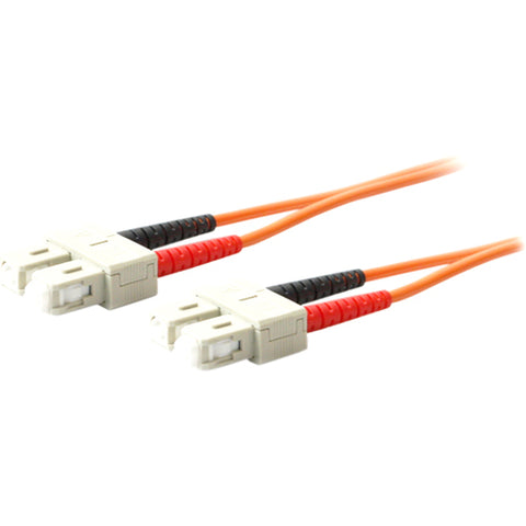 AddOn 1m SC (Male) to SC (Male) Orange OM1 Duplex Fiber OFNR (Riser-Rated) Patch Cable - SystemsDirect.com