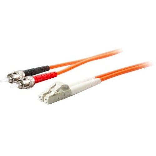 AddOn 10m LC (Male) to ST (Male) Orange OM1 Duplex Fiber OFNR (Riser-Rated) Patch Cable