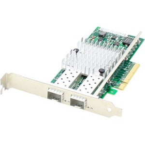 AddOn Dell 430-3815 Comparable 10Gbs Dual Open SFP+ Port Network Interface Card with PXE boot