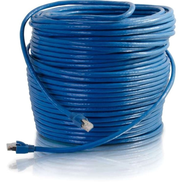 Legrand 75ft Cat6 Snagless Solid Shielded Network Patch Cable - Blue