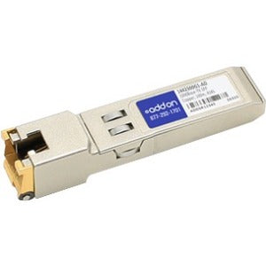 AddOn ADTRAN 1442300G1 Compatible TAA Compliant 10-100-1000Base-TX SFP Transceiver (Copper, 100m, RJ-45)