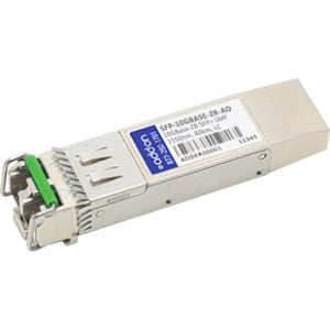 AddOn MSA and TAA Compliant 10GBase-ZR SFP+ Transceiver (SMF, 1550nm, 80km, LC)