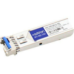 AddOn Cisco SFP-10G-BX-U Compatible TAA Compliant 10GBase-BX SFP+ Transceiver (SMF, 1270nmTx-1330nmRx, 10km, LC, DOM)