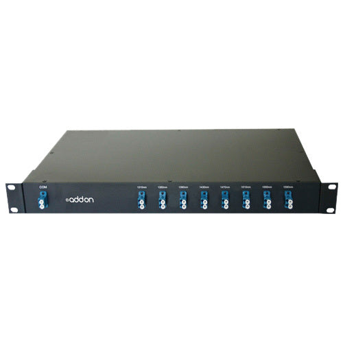 AddOn 8 Channel CWDM MUX-DEMUX 19inch Rack Mount with LC connector