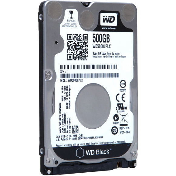 Western Digital Wd Black 500gb Mobile 2.5-inch Sata 6 Gb-s 7200 Rpm 32mb Cache Internal Hard Dri
