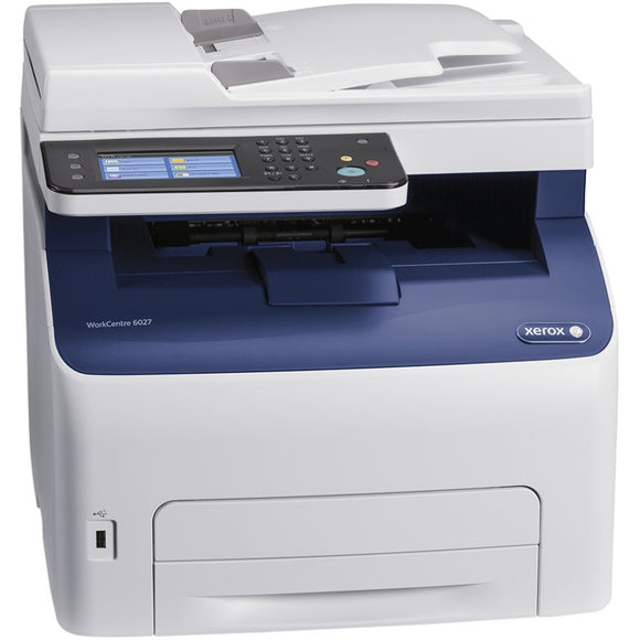 Xerox WorkCentre 6027-NI LED Multifunction Printer - Color