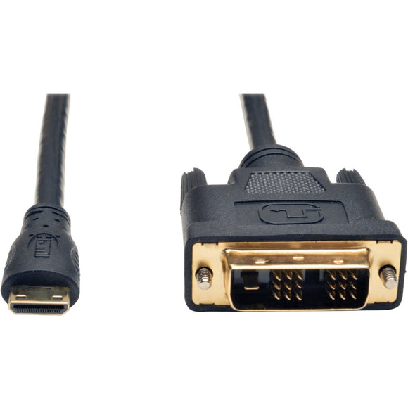 Tripp Lite 10ft Mini HDMI to DVI-D Digital Monitor Adapter Video Converter Cable M-M 10'