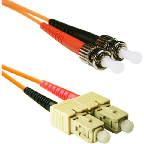 ENET 3M SC-ST Duplex Multimode 62.5-125 OM1 or Better Orange Fiber Patch Cable 3 meter SC-ST Individually Tested