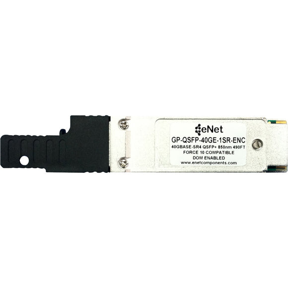 Dell-Force 10 Compatible GP-QSFP-40GE-1SR - Functionally Identical 40GBASE-SR4 QSFP+ 850nm 300m DOM Enabled MPO-MTP Connector