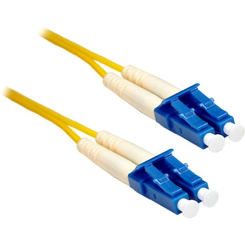ENET 3M LC-LC Duplex Single-mode 9-125 OS1 or Better Yellow Fiber Patch Cable 3 meter LC-LC Individually Tested