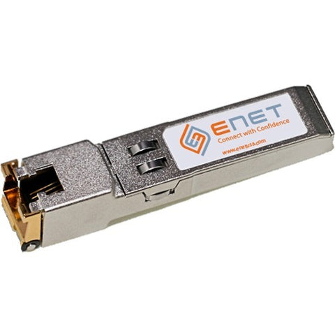 Cisco Compatible GLC-T - Functionally Identical 10-100-1000BASE-T SFP N-A RJ45 Connector