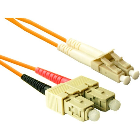 ENET 3M SC-LC Duplex Multimode 62.5-125 OM1 or Better Orange Fiber Patch Cable 3 meter SC-LC Individually Tested