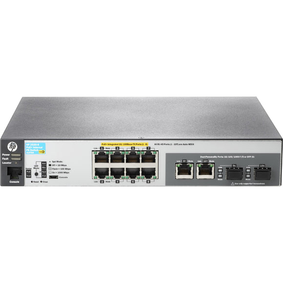 HPE 2530-8-PoE+ Switch