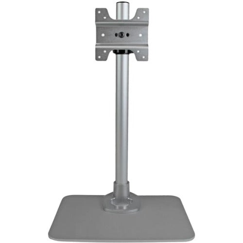 StarTech.com Single Monitor Stand - Silver - VESA Mount - Monitor Arm Desk Stand - Computer Monitor Stand