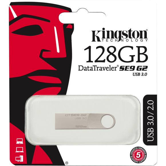 Kingston 128GB DataTraveler SE9 G2 USB 3.0 Flash Drive