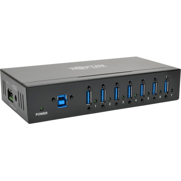 Tripp Lite 7-Port USB 3.0 Hub SuperSpeed with Dedicated 2A USB Charging iPad Tablet Metal