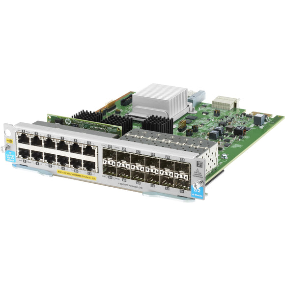 HPE 12-port 10-100-1000BASE-T PoE+ - 12-port 1GbE SFP MACsec v3 zl2 Module