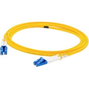 AddOn 30m LC (Male) to LC (Male) Yellow OS1 Duplex Fiber OFNR (Riser-Rated) Patch Cable