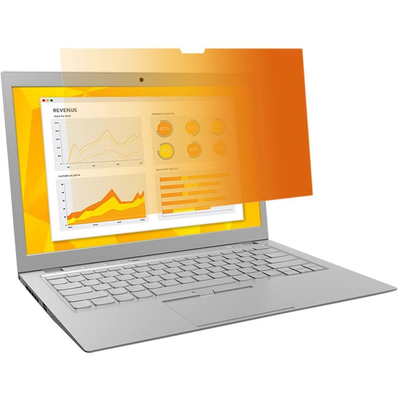 3m Mobile Interactive Solution Netbook And Notebook Gold Privacy Filters - Unframed 17.0 Inch  Widescreen